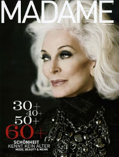 Worlds oldest model turned 84; CARMEN DELL'OREFICE