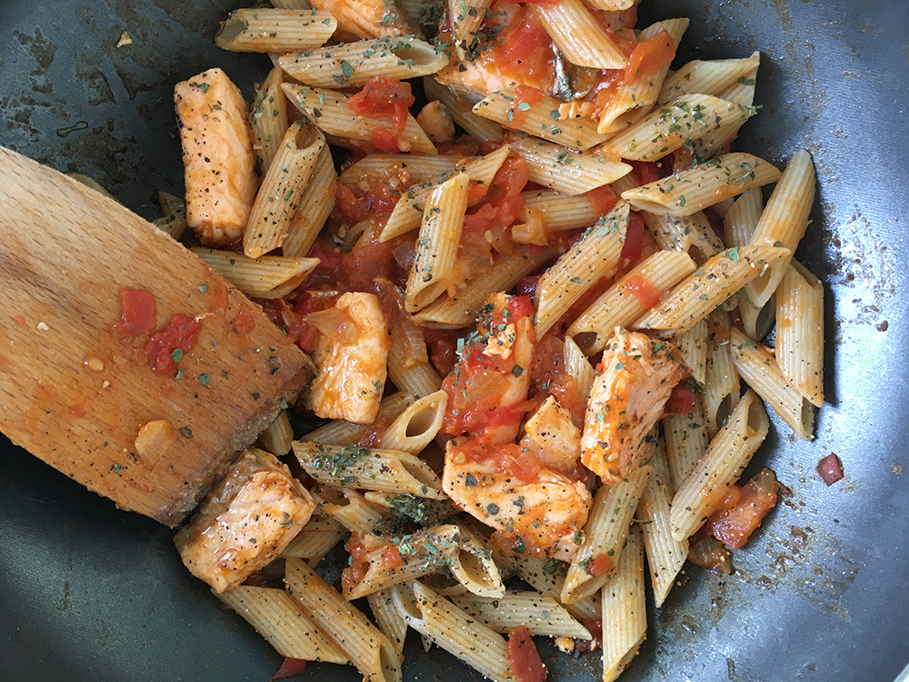 This is how you make a healthy pasta in 10 minutes