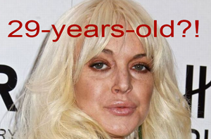 Why Lindsay Lohan aged badly