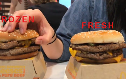 McDonald's is rolling out its FRESH made burger!