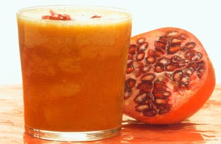 Natural Skin Booster; Pomegranate Orange Juice