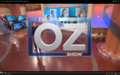 Dr Oz anti aging secrets VIDEO