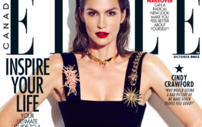 Cindy Crawford responds to unedited bikini photo