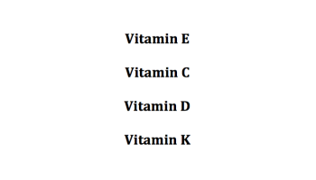 Top 4 Vitamins for a Beautiful Skin