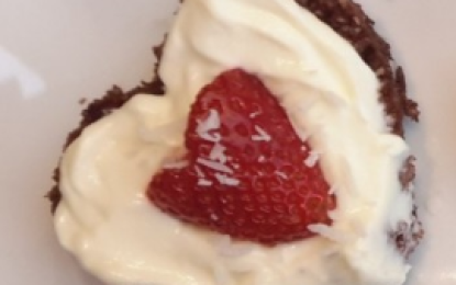 Stay young on Valentinesday with a healthy Valentines Day Dessert!