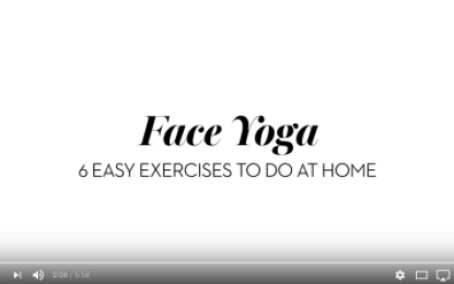 Face Yoga Exercises To Do At Home