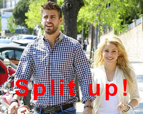 Shakira and Pique Split Up because Shakira was TOO OLD?!