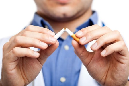 Why is smoking bad for the skin?