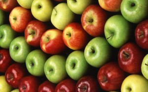 Apples are good for your skin