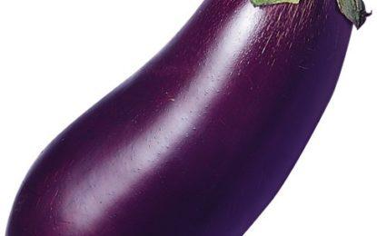 Eat Eggplants against Dry Skin
