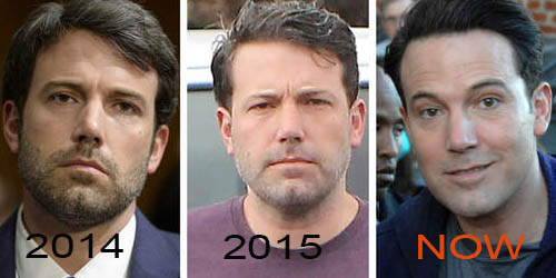 Ben Affleck keeps getting younger