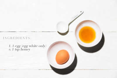 Honey and egg stretching mask (and some Anti-Aging Tips)