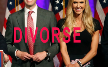 BREAKING: Trump Jr. and his wife Vanessa are having a divorce