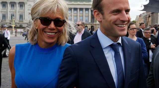 Wife of Emmanuel Macron – Brigitte Macron – just doesn't age…
