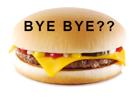 BREAKING – McDonalds stops selling Cheeseburgers!