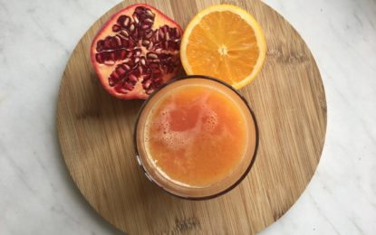 Natural Skin Booster; Pomegranate Orange Juice