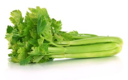 Health and skin benefits of celery.