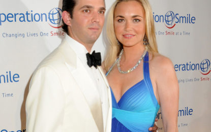 BREAKING NEWS – Trump's daughter-in-law opens letter containing white powder
