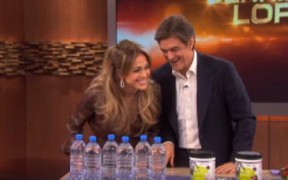 Jennifer Lopez Tells Dr. Oz Her Beauty Secrets VIDEO