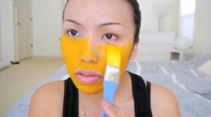 DIY Turmeric Face Mask VIDEO