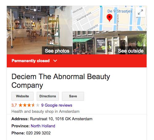 Deciem closed ALL European stores (Update after crazy Instagram-video)