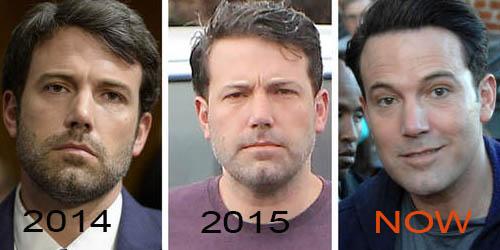 Ben Affleck keeps getting younger