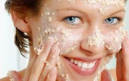 A DIY Facial Scrub and Mask, in 3 steps.