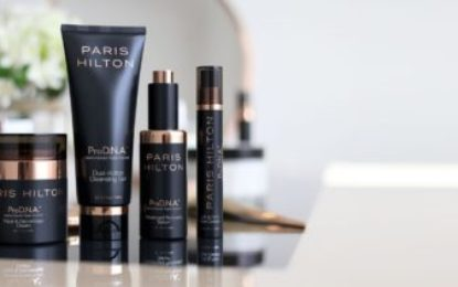 Paris Hilton Just Launched a Skincare Line, named ProD.N.A
