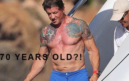 Sylvester Stallone Secret Anti-Aging Drink